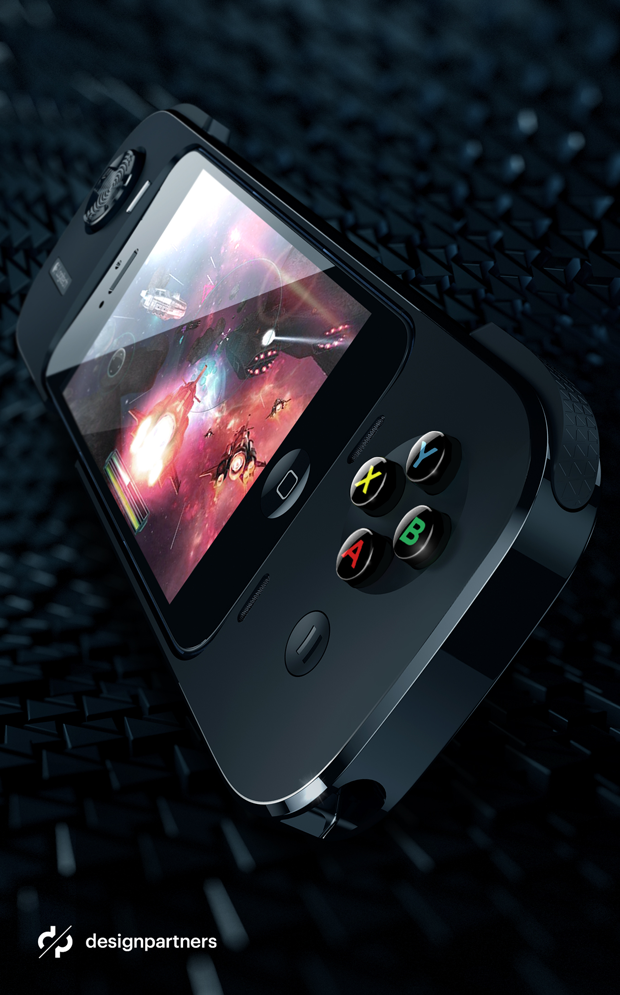 "Logitech Gaming Powershell by Design Partners iPhone Mobile Game Controller and Battery Cormac Ã"" Conaire"