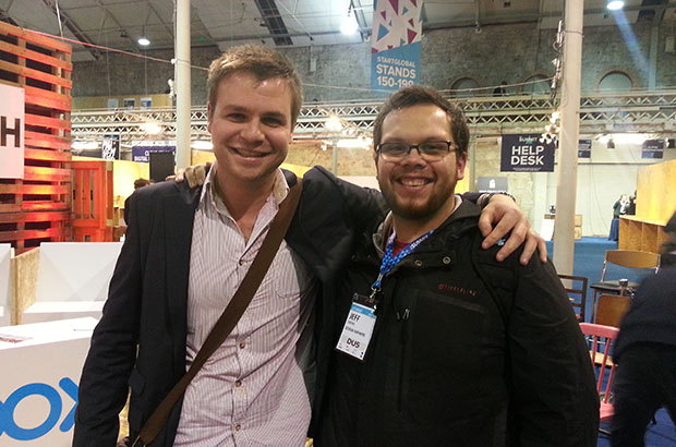 jeff and tom at websummit